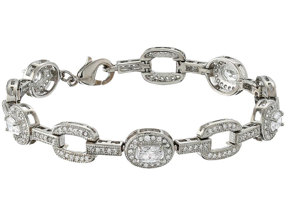 Nina - Tennie Bracelet (Palladium/CZ) Bracelet