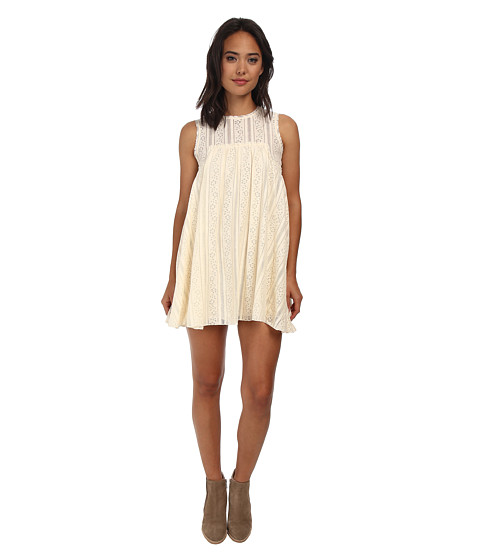 Free People - Tu Es La Mini (Ivory Combo) Women