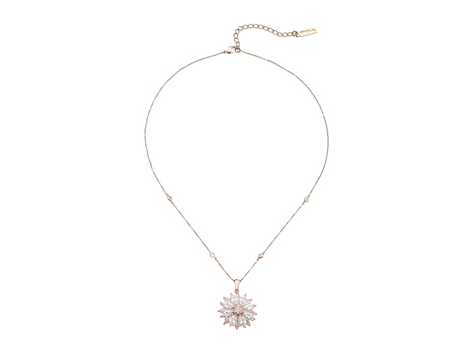 Nina - Aidah Necklace (Rose Gold/CZ) Necklace