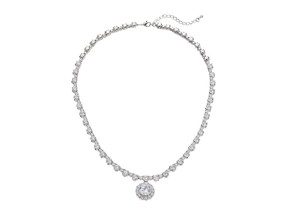 Nina - Dublyn Necklace (Silver/CZ) Necklace