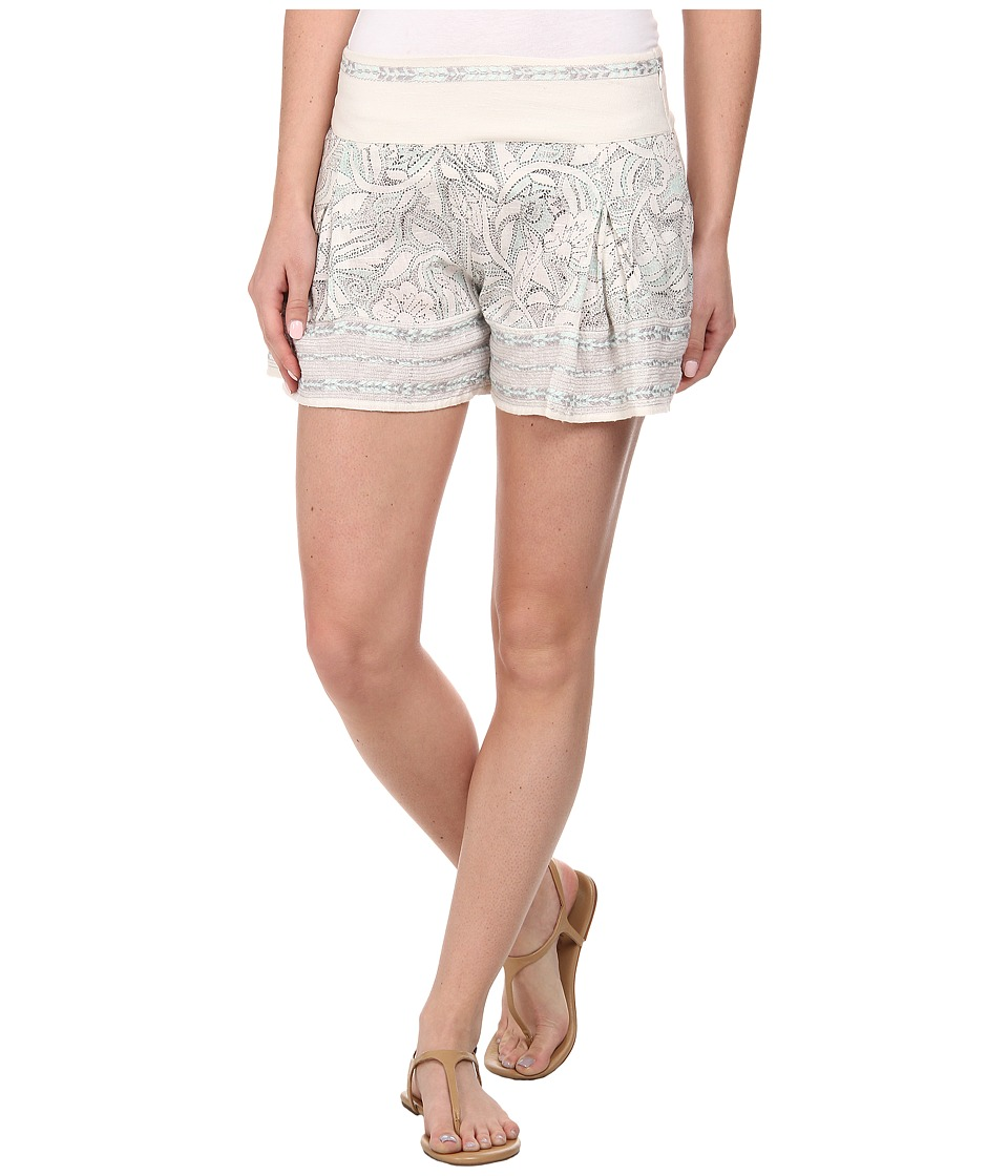 Free People - Heart It Printed Skort (Ivory Combo) Women's Shorts