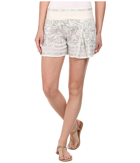 Free People - Heart It Printed Skort (Ivory Combo) Women