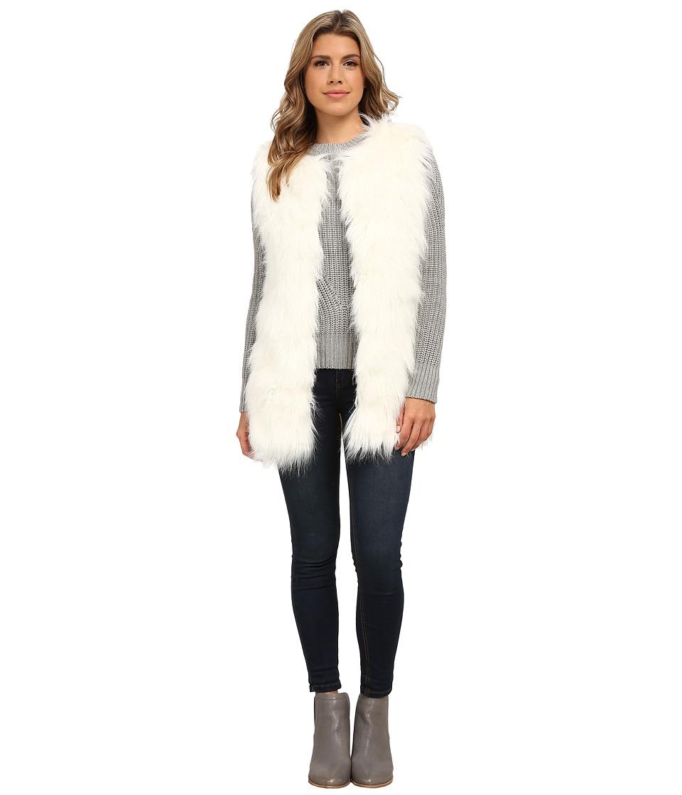 Gabriella Rocha - Katrina Faux Fur Vest (Ivory) Women's Vest