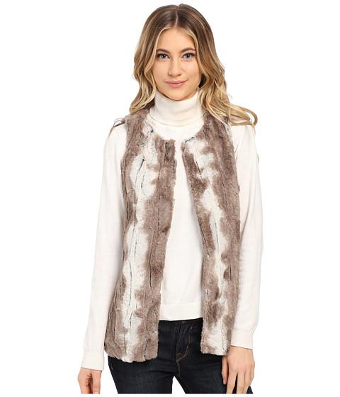 Gabriella Rocha - Michelle Faux Fur Vest (Multi Tan) Women's Vest