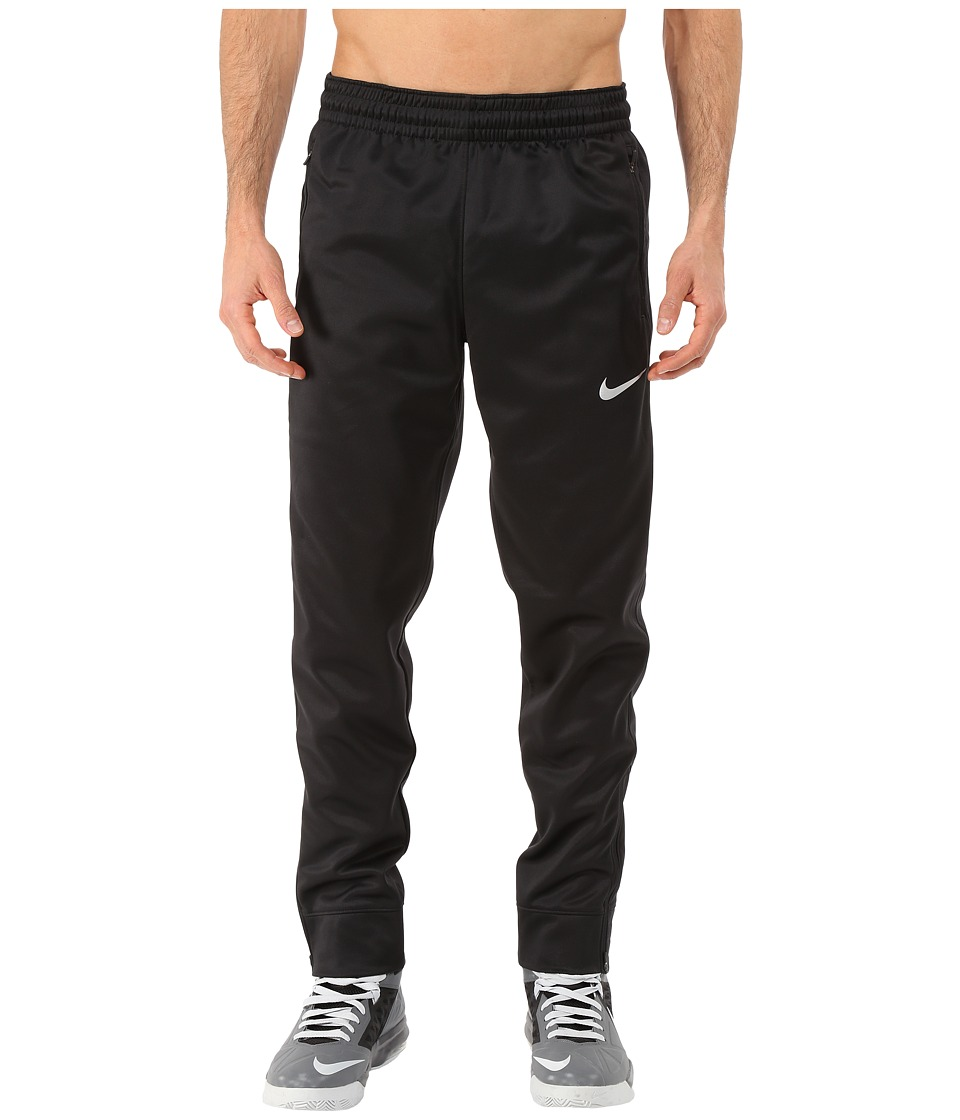 Nike - Hyper-Lite WNTRZ Cuff Pants (Black/Black/Black/Metallic Silver) Men's Casual Pants