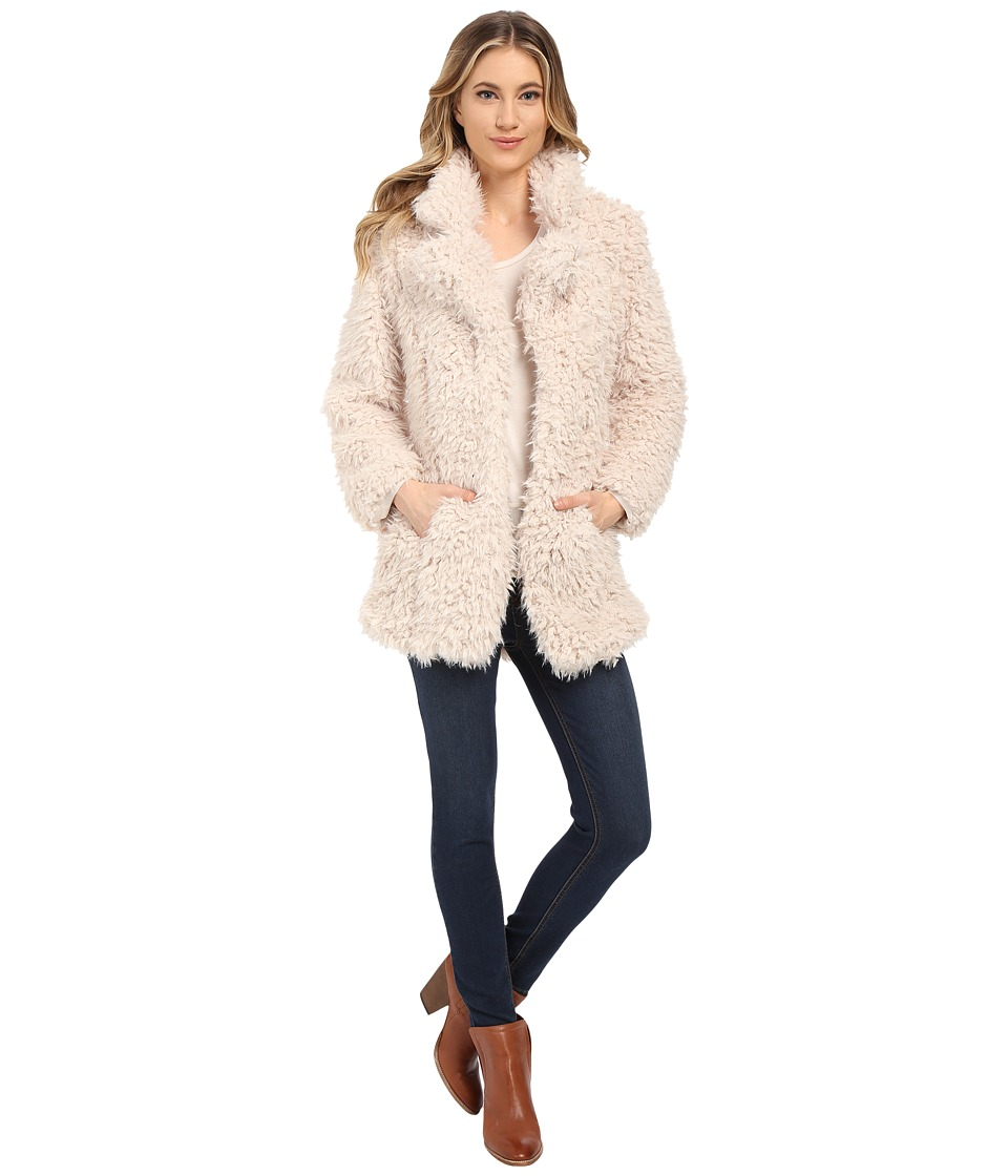 Brigitte Bailey - Alyssa Faux Fur Jacket (Cream) Women
