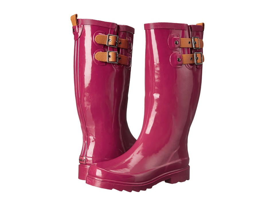 Chooka - Top Solid Rain Boot (Garnet) Women's Rain Boots