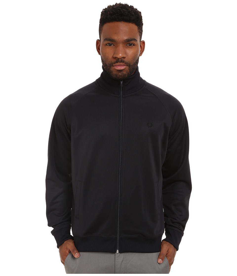 Fred Perry - Plain Track Jacket (Navy) Men's Coat
