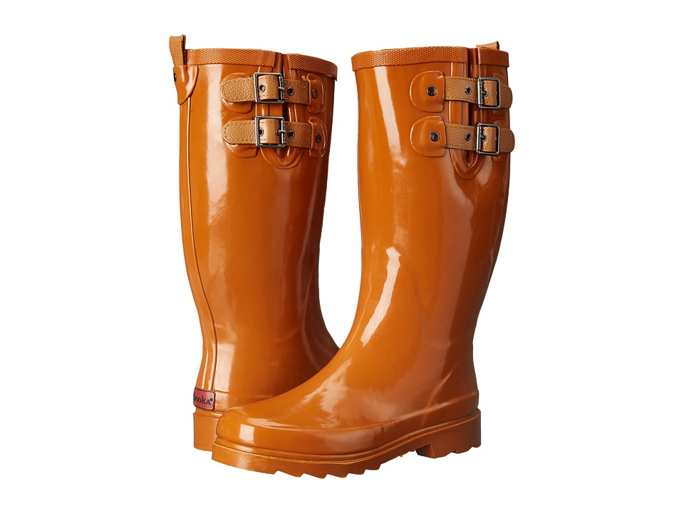 Chooka - Top Solid Rain Boot (Spice Orange) Women