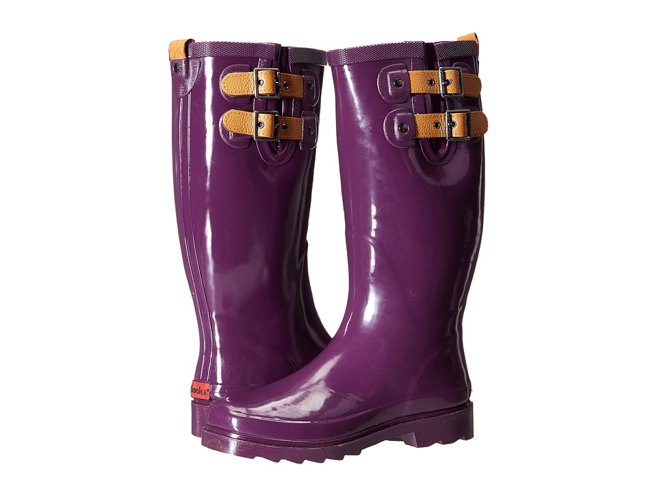 Chooka Top Solid Rain Boot (Imperial Purple) Women