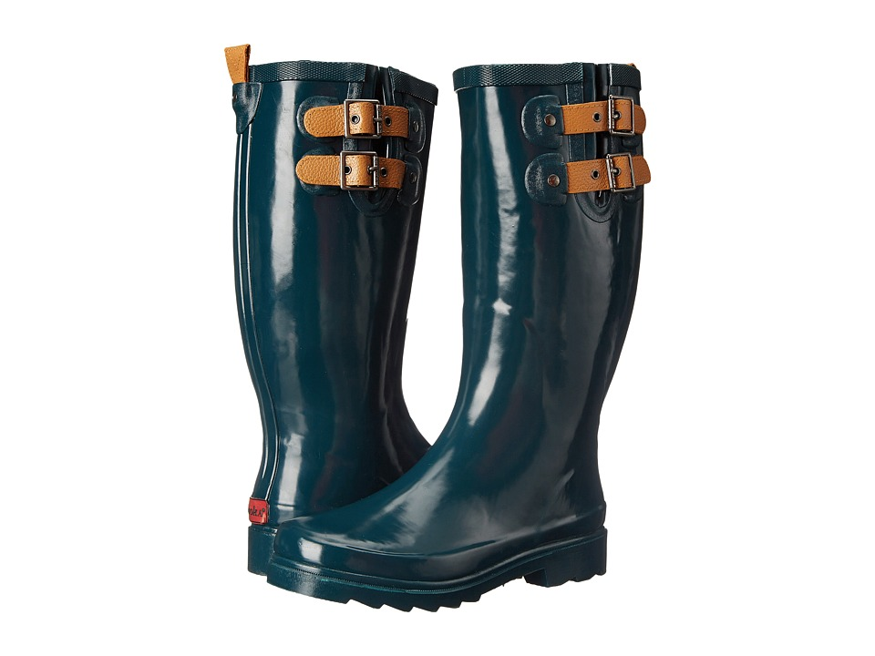 Chooka - Top Solid Rain Boot (Deep Juniper) Women's Rain Boots