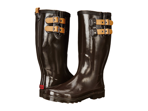 Chooka - Top Solid Rain Boot (Espresso) Women's Rain Boots