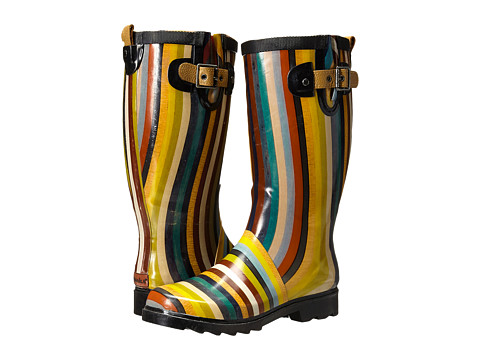 Chooka - Inlaid Stripe Rain Boot (Multi) Women's Rain Boots