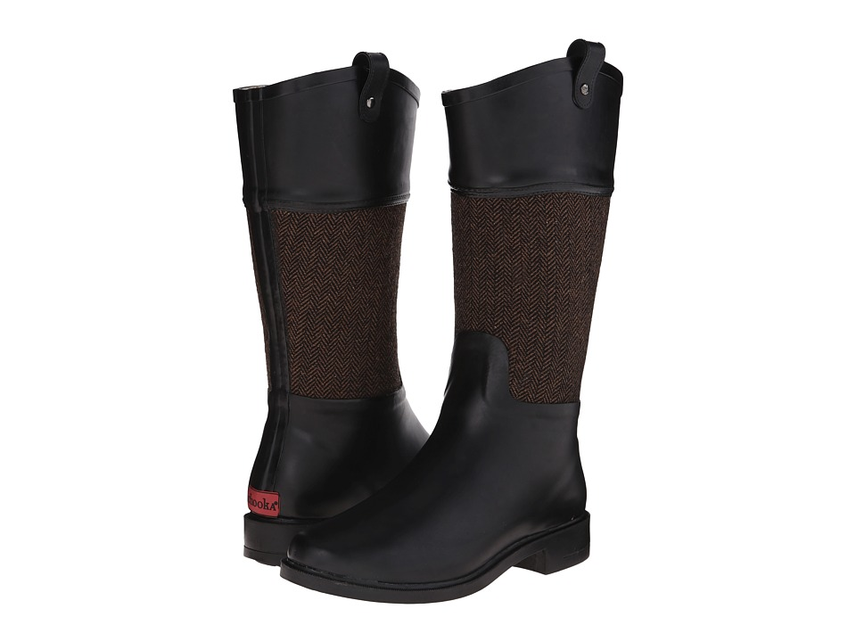 Chooka - Candice Rain Boot (Brown) Women's Rain Boots