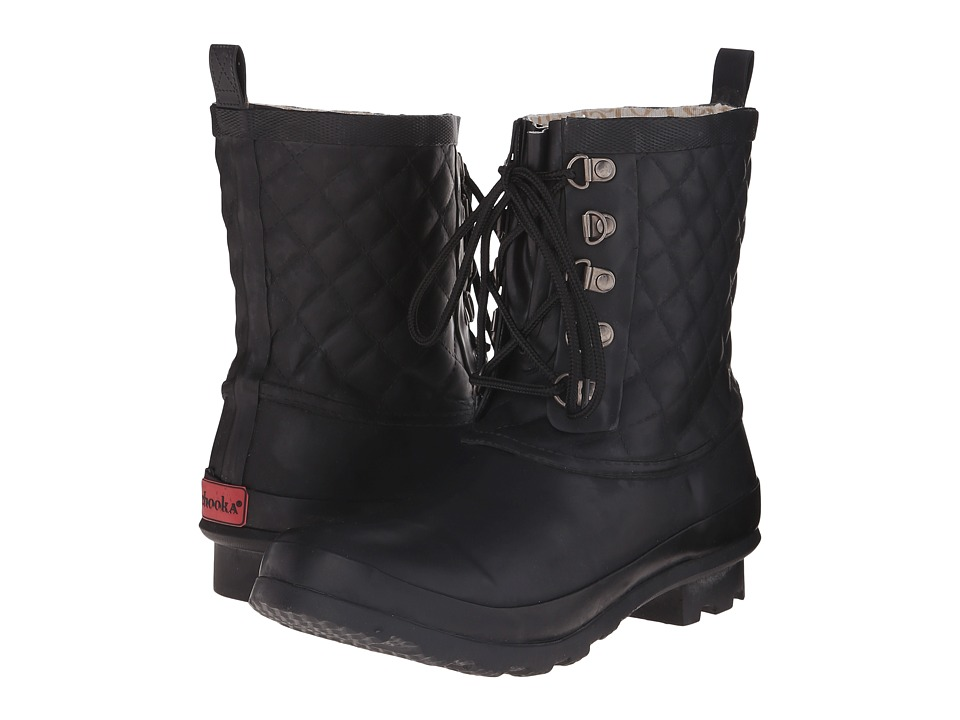 Chooka - Freja Rain Boot (Black) Women's Rain Boots