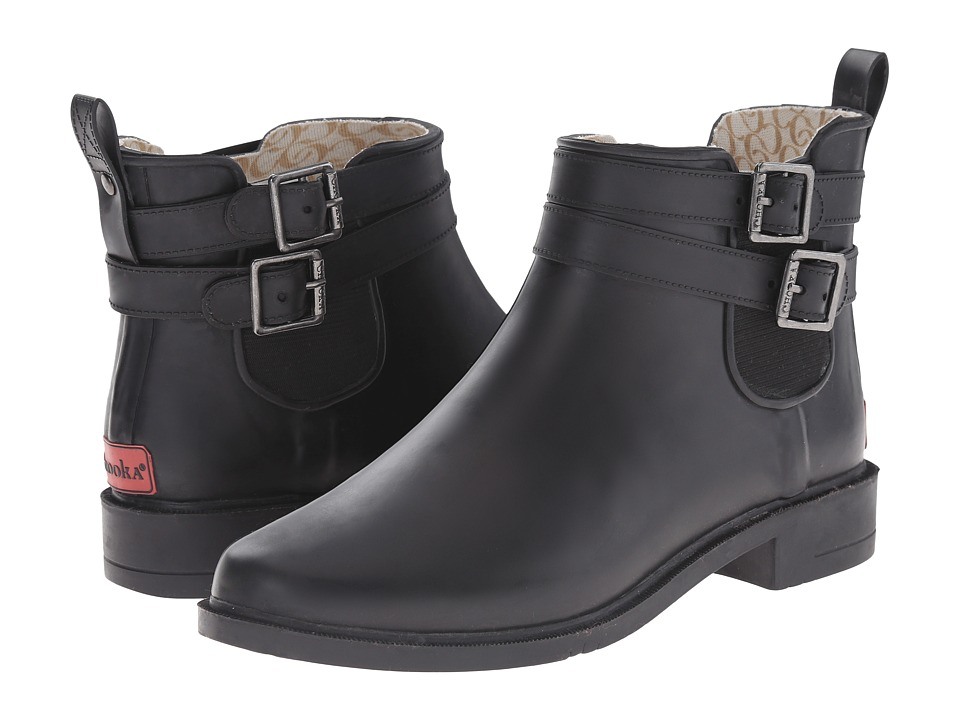 Chooka - Dakota Rain Boot (Black) Women's Rain Boots