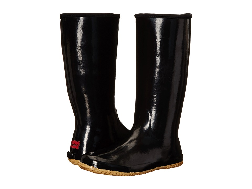Chooka - Solid Packable Rain Boot (Black) Women