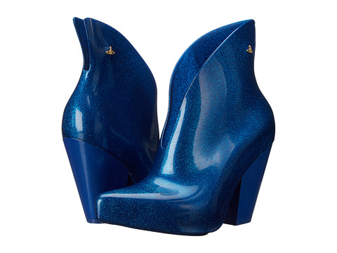 Vivienne Westwood - Anglomania + Melissa Satir Boot (Electric Blue) Women's Boots