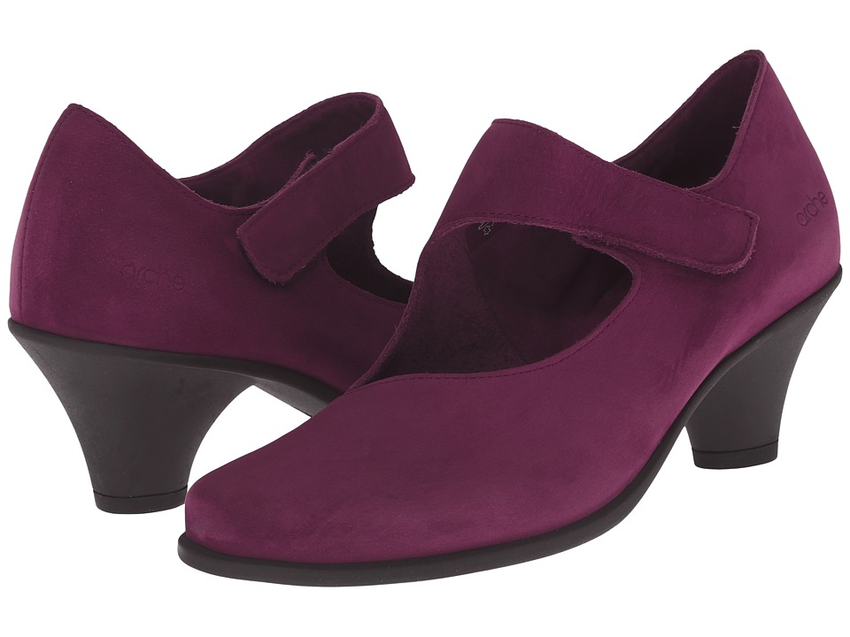 Arche - Agatha (Berry) Women's Shoes