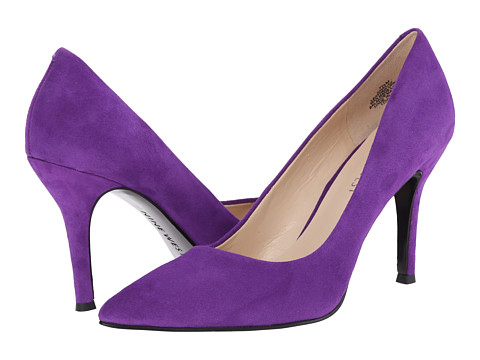 Nine West - Flax (Purple Suede) High Heels