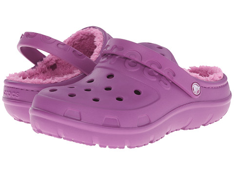 Crocs - Hilo Lined Clog (Viola/Party Pink) Clog Shoes