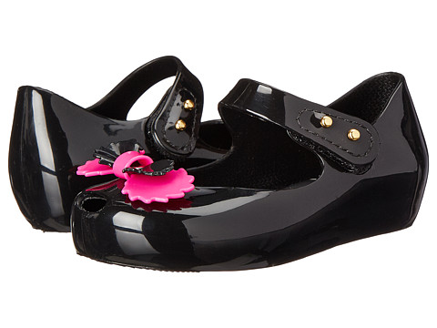 Vivienne Westwood - Anglomania + Melissa Mini Ultra (Toddler) (Black) Women's Maryjane Shoes