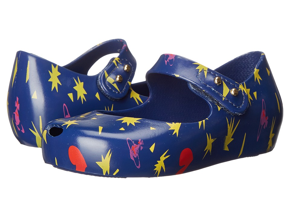 Vivienne Westwood - Anglomania + Melissa Mini Ultra (Toddler) (Dark Blue) Women's Maryjane Shoes