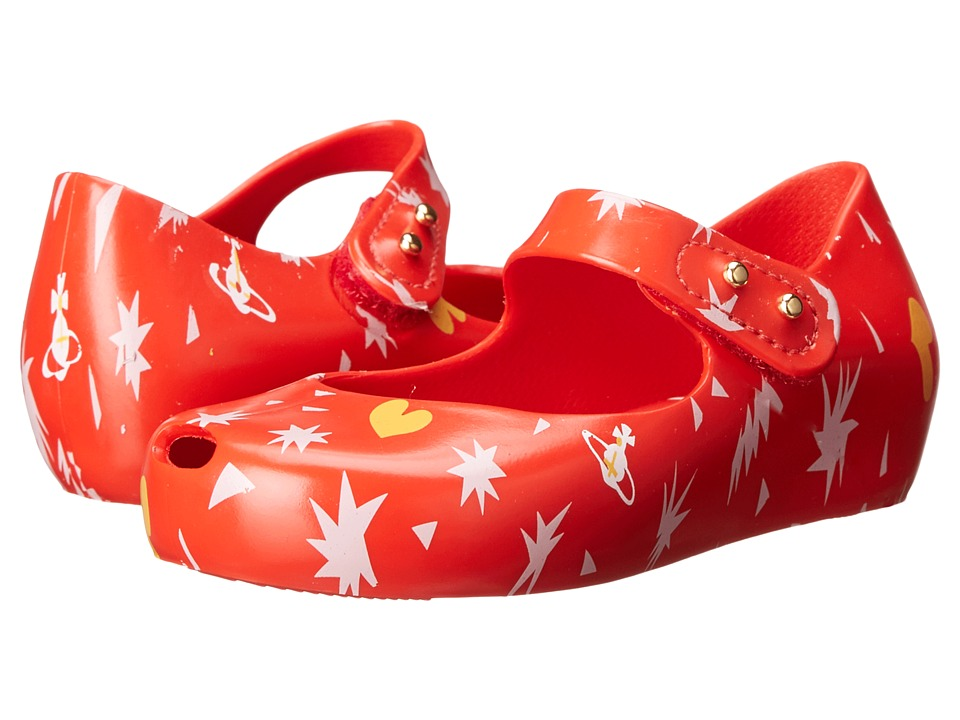 Vivienne Westwood - Anglomania + Melissa Mini Ultra (Toddler) (Red) Women