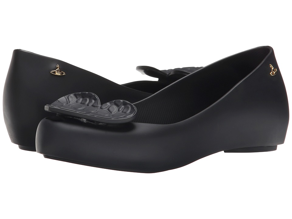 Vivienne Westwood - Anglomania + Melissa Ultra Girl (Black) Women