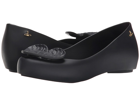 Vivienne Westwood - Anglomania + Melissa Ultra Girl (Black) Women's Flat Shoes
