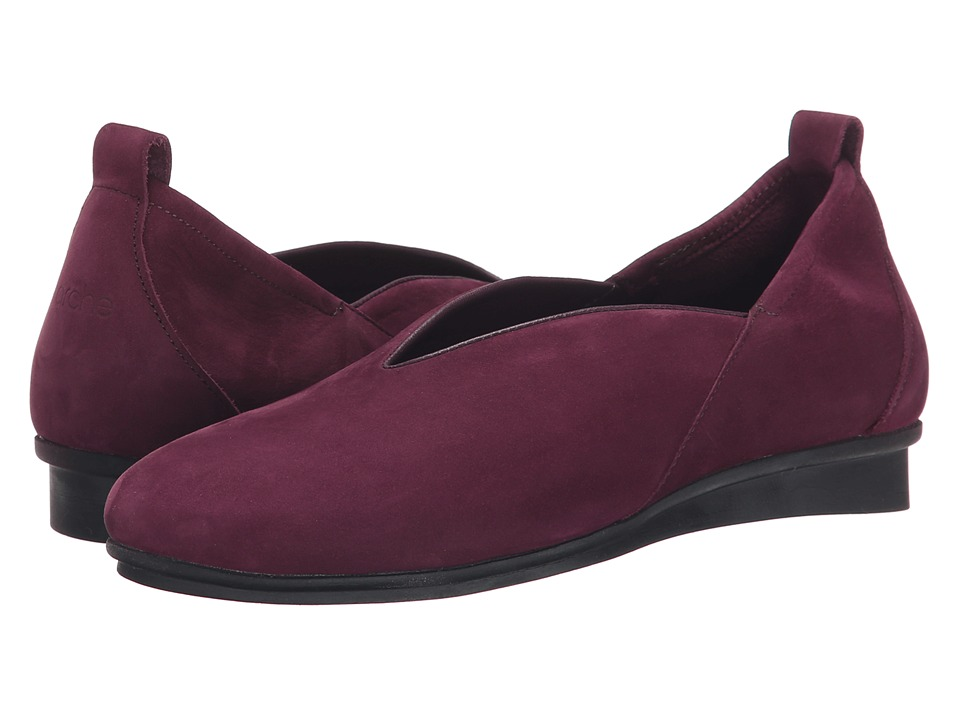 Arche - Nino (Berry) Women's Shoes