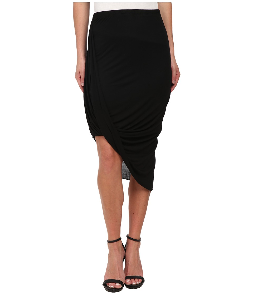 LAmade - Sexy Everyday Drape Skirt (Black) Women