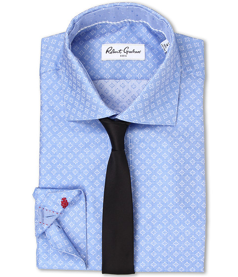 Robert Graham - Solomon Dress Shirt (Blue) Men