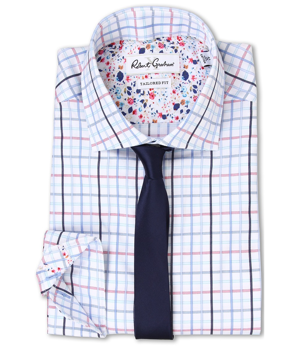 Robert Graham - Savelli Dress Shirt (Blue) Men's Clothing