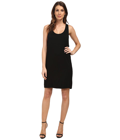 LAmade - Racerback Tank Dress (Black) Women