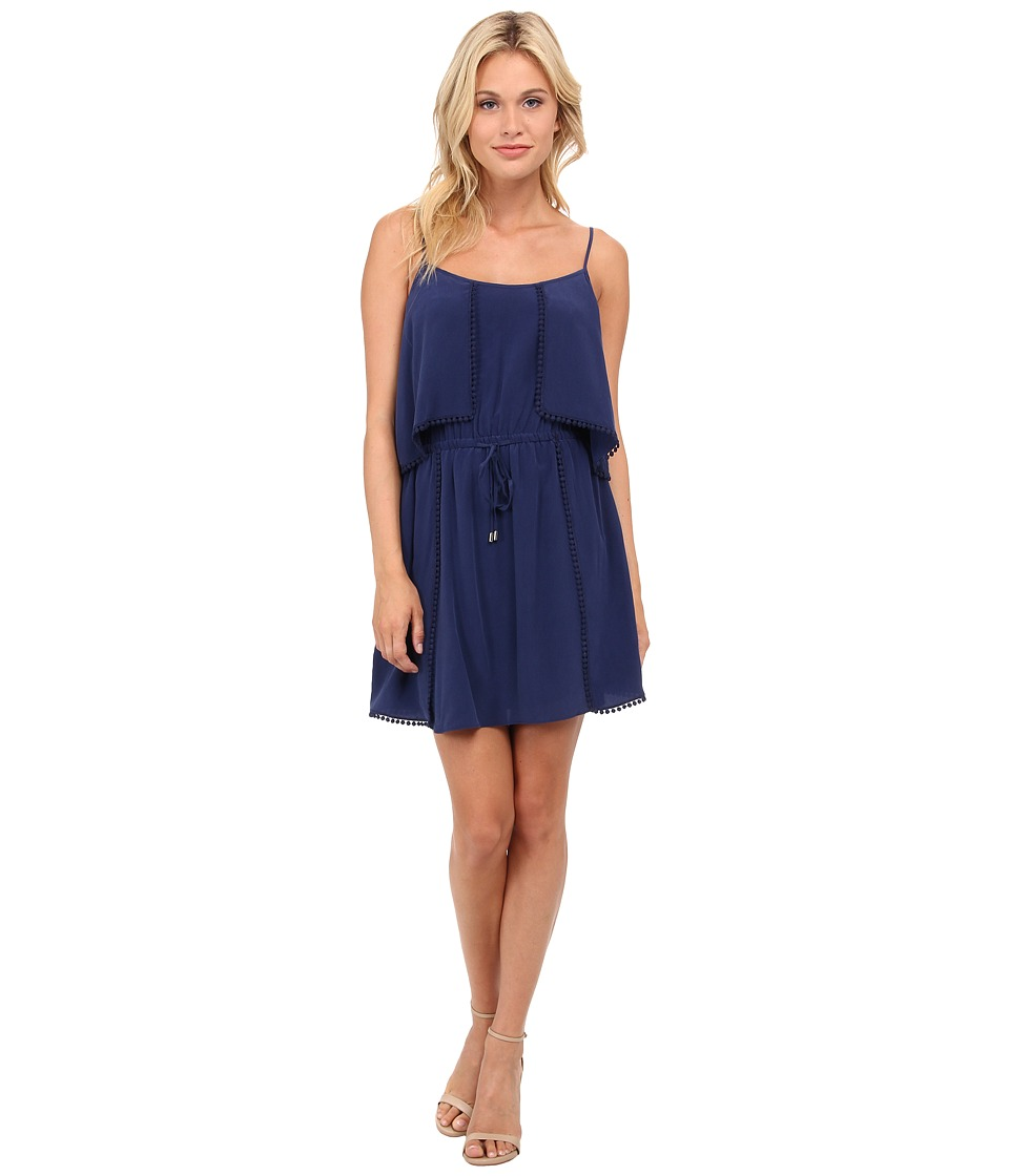 LAmade Silk Ruffle Mini Dress (Galaxy) Women
