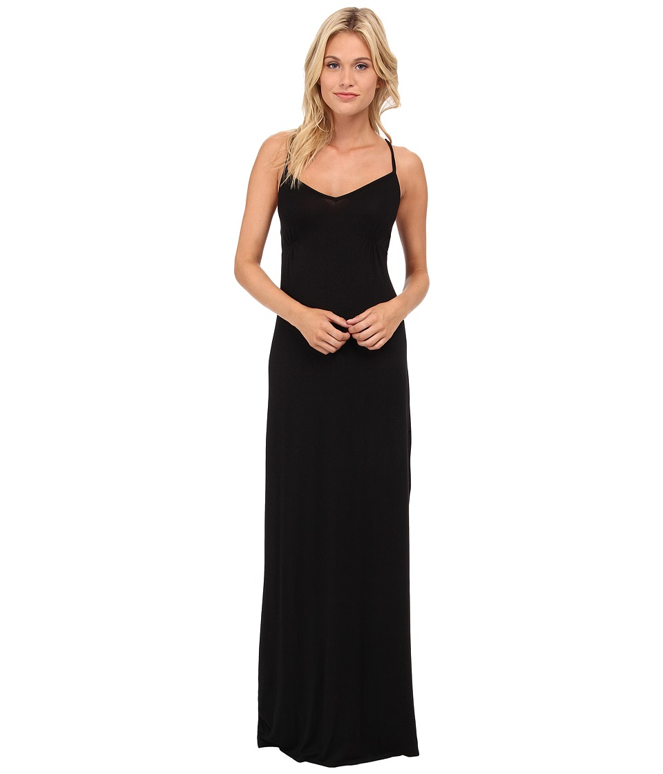 LAmade - Glamour Maxi Dress (Black) Women's Dress