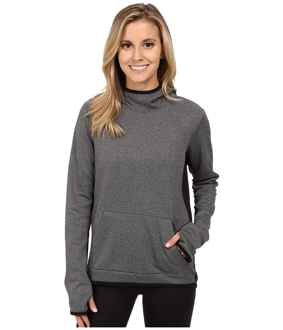 Nike - All Time Tech Pullover Hoodie (Black Heather/Black/Black) Women's Sweatshirt