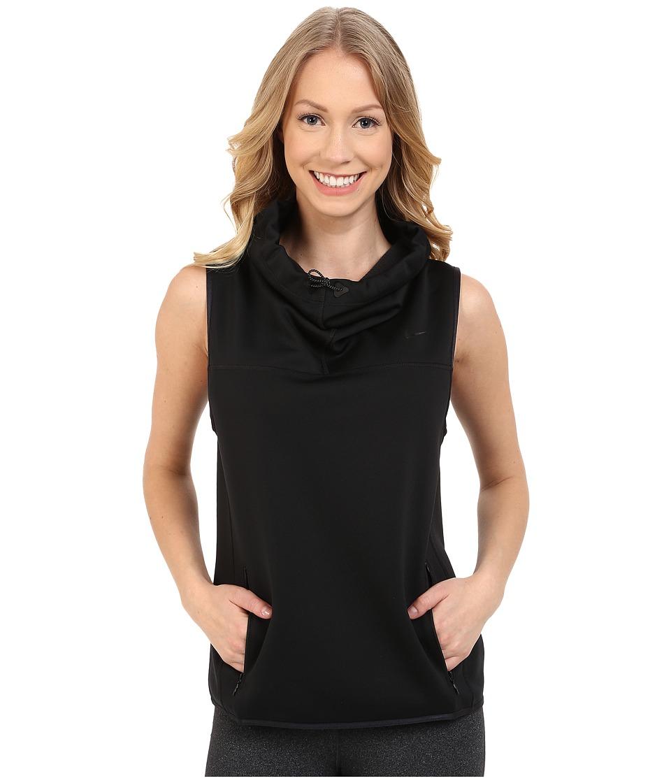 Nike - Therma Sphere Training Vest (Black/Black) Women's Vest