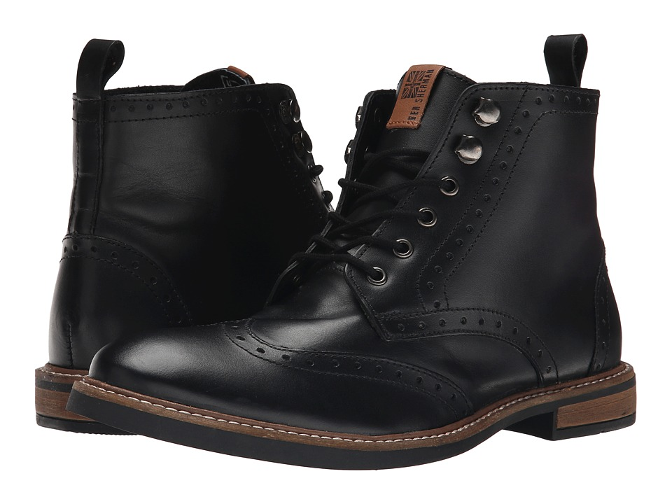 Ben Sherman - Birk Boot (Black) Men's Boots