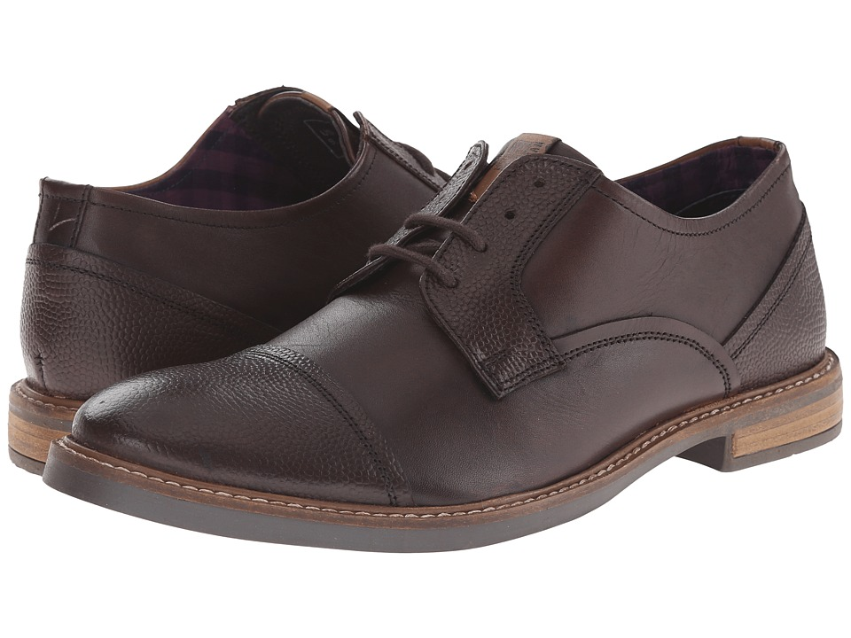 Ben Sherman - Luke (Dark Brown) Men's Lace up casual Shoes