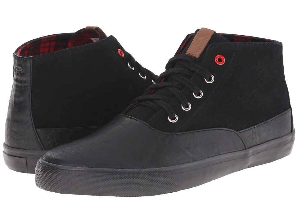 Ben Sherman - Pete Suede (Black) Men's Shoes
