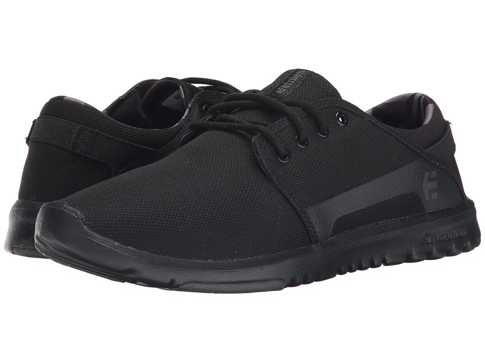 etnies - Scout (Black/Grey/Black) Men