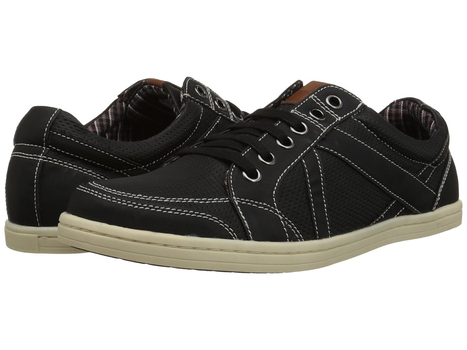 Ben Sherman - Lox Perf (Black) Men's Lace up casual Shoes