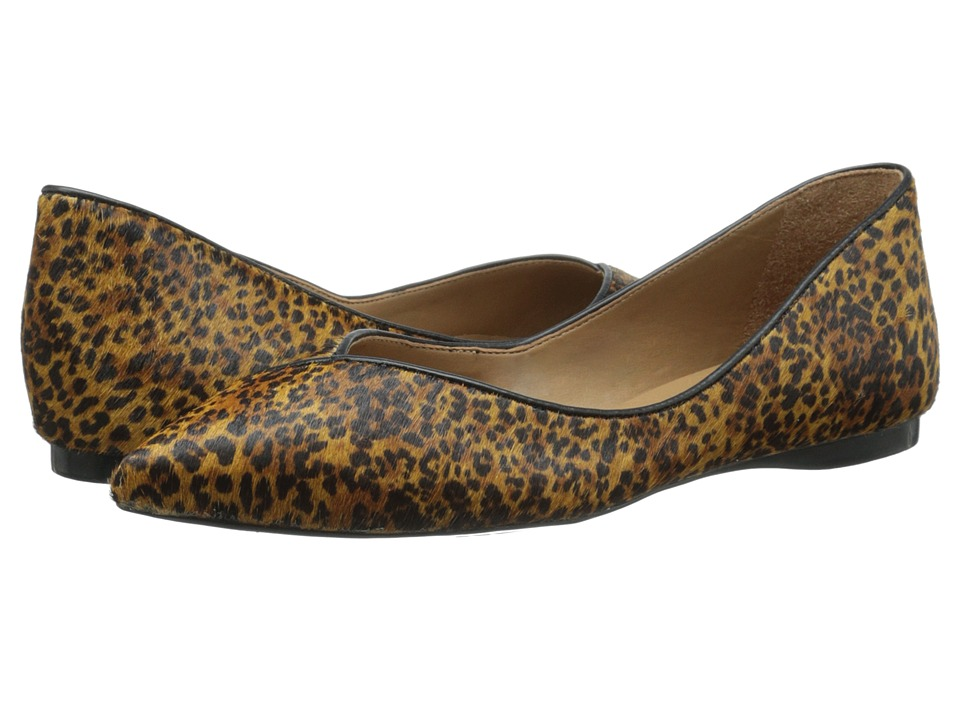 French Sole Peppy (Snow Leopard Haircalf) Women