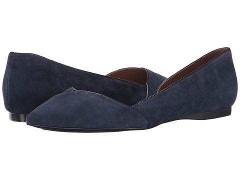 French Sole - Pyro (Navy Suede) Women's Flat Shoes