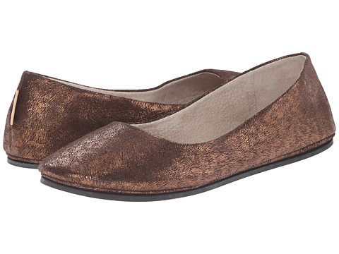 French Sole - Sloop (Bronze Leopard X) Women's Flat Shoes