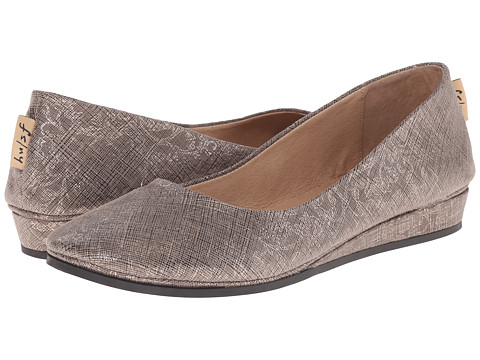 French Sole - Zeppa (Taupe Floral Cartizze) Women