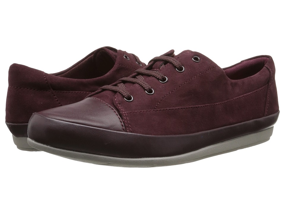 Clarks - Lorry Grace (Burgundy) Women's Shoes