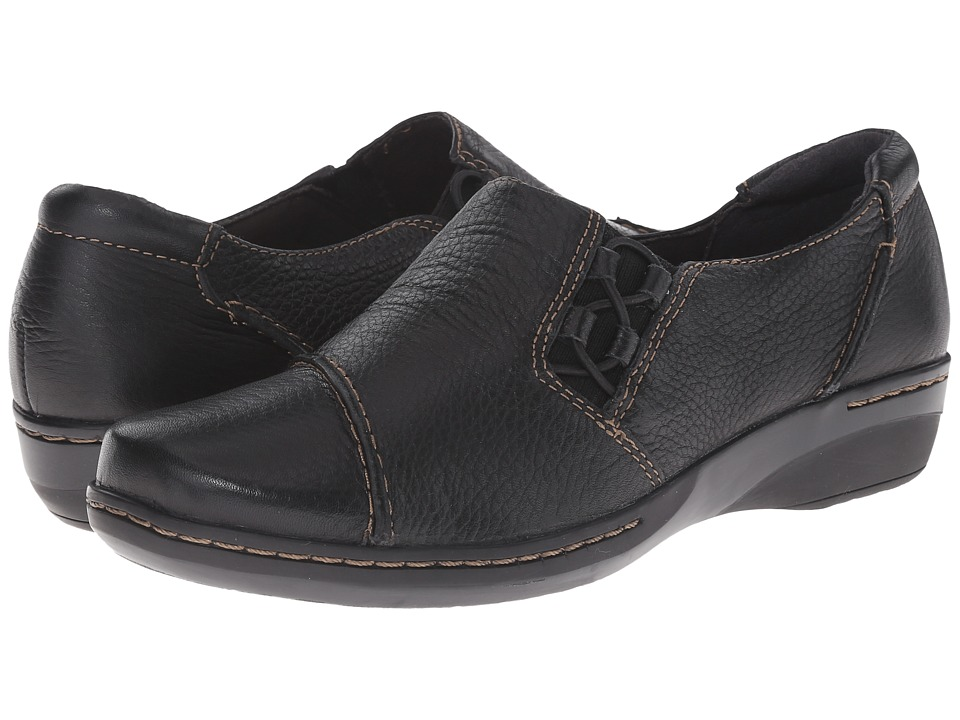Clarks - Evianna Mix (Black) Women's Shoes